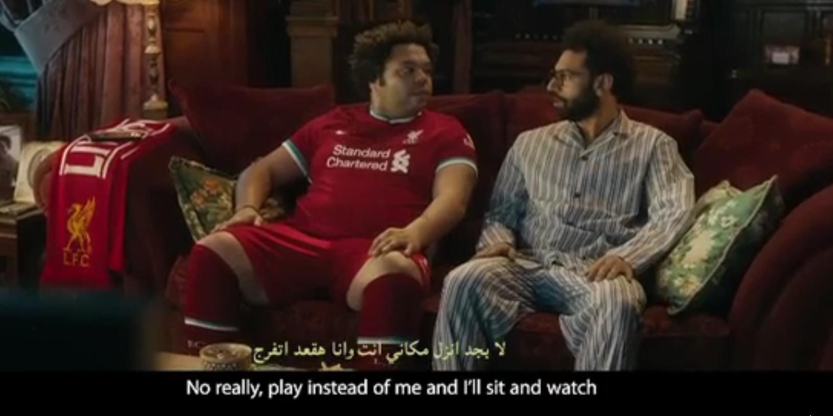 (Video) Salah stars in hilarious new ad poking fun at social media know-it-alls