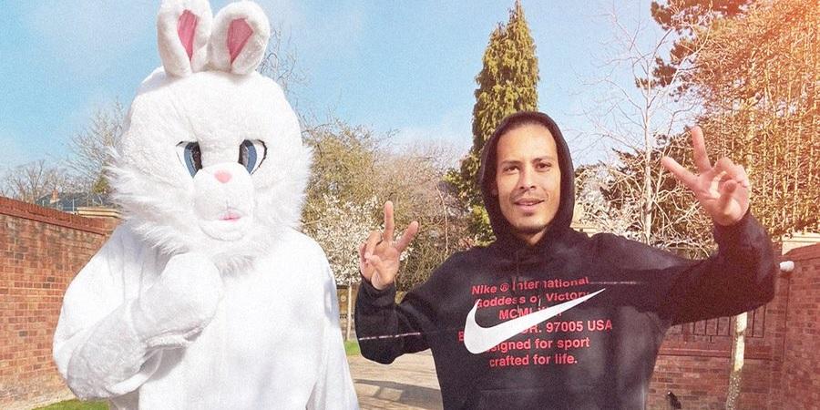 (Image) Liverpool fans left guessing after Virgil van Dijk drops Easter update