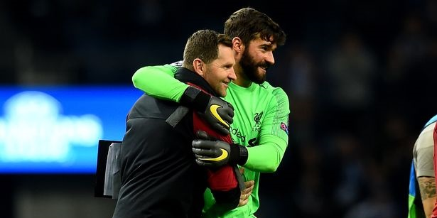 Liverpool coach reveals he told Alisson to go forward before match-winning goal