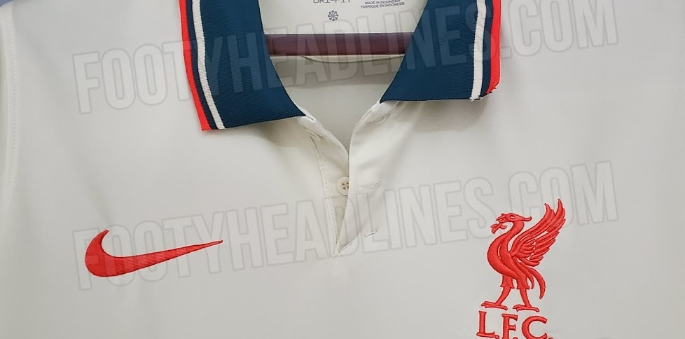 (Image) New version of Liverpool's away kit for 2021/22 leaked