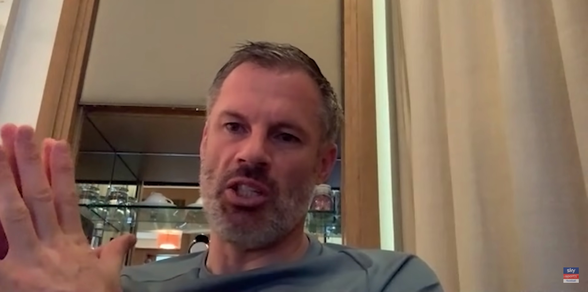 (Video) Carragher makes big claim over Liverpool's front-three; compares transfer needs to Manchester United's