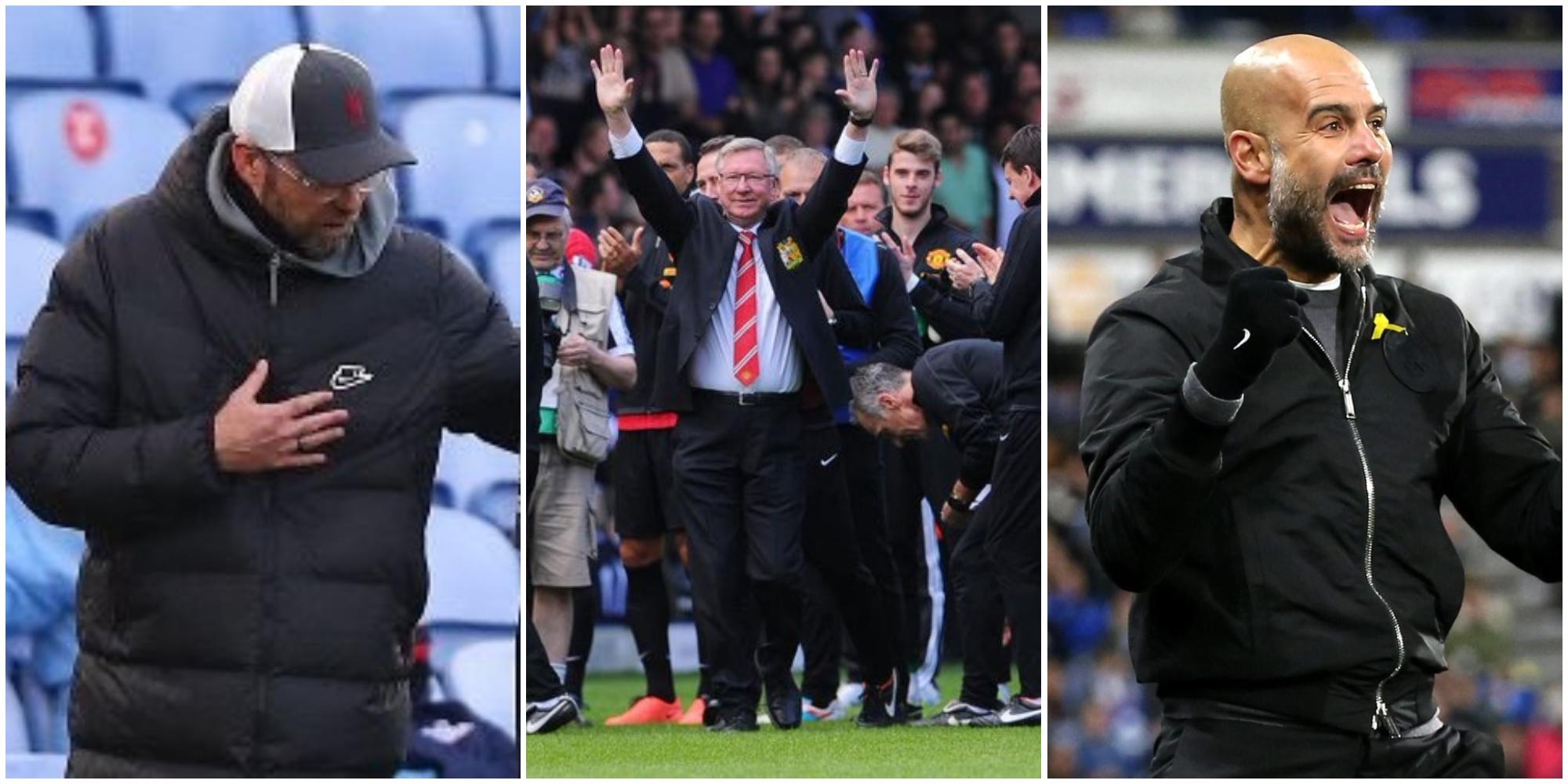 Alex Ferguson claims he was 'partly responsible' for Jurgen Klopp's Liverpool move