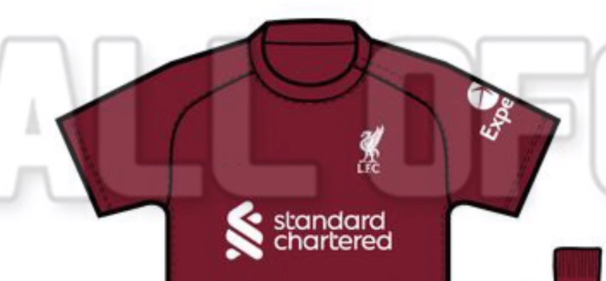 (Video) Liverpool's rumoured 2022/23 home kit leaked in new clip