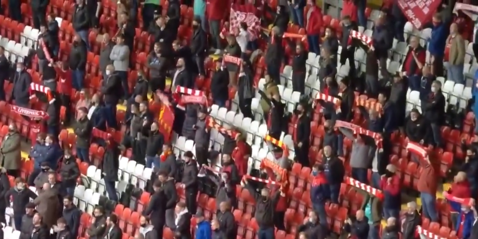 (Video) 10,000 Liverpool fans singing YNWA at Anfield will give you goosebumps