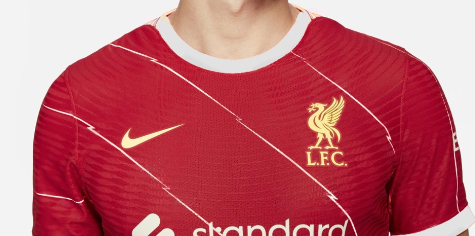 (Image) Liverpool's home kit for 2021/22 photoshopped with 19/20 colour scheme looks interesting