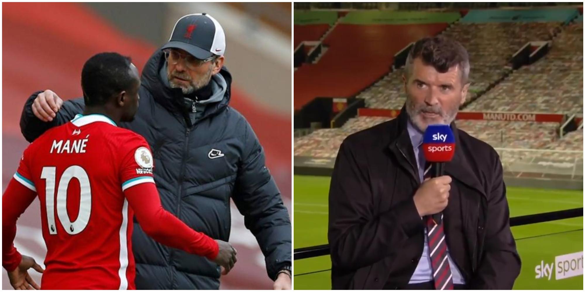 Roy Keane launches bizarre attack on Jurgen Klopp over handling of Sadio Mane incident