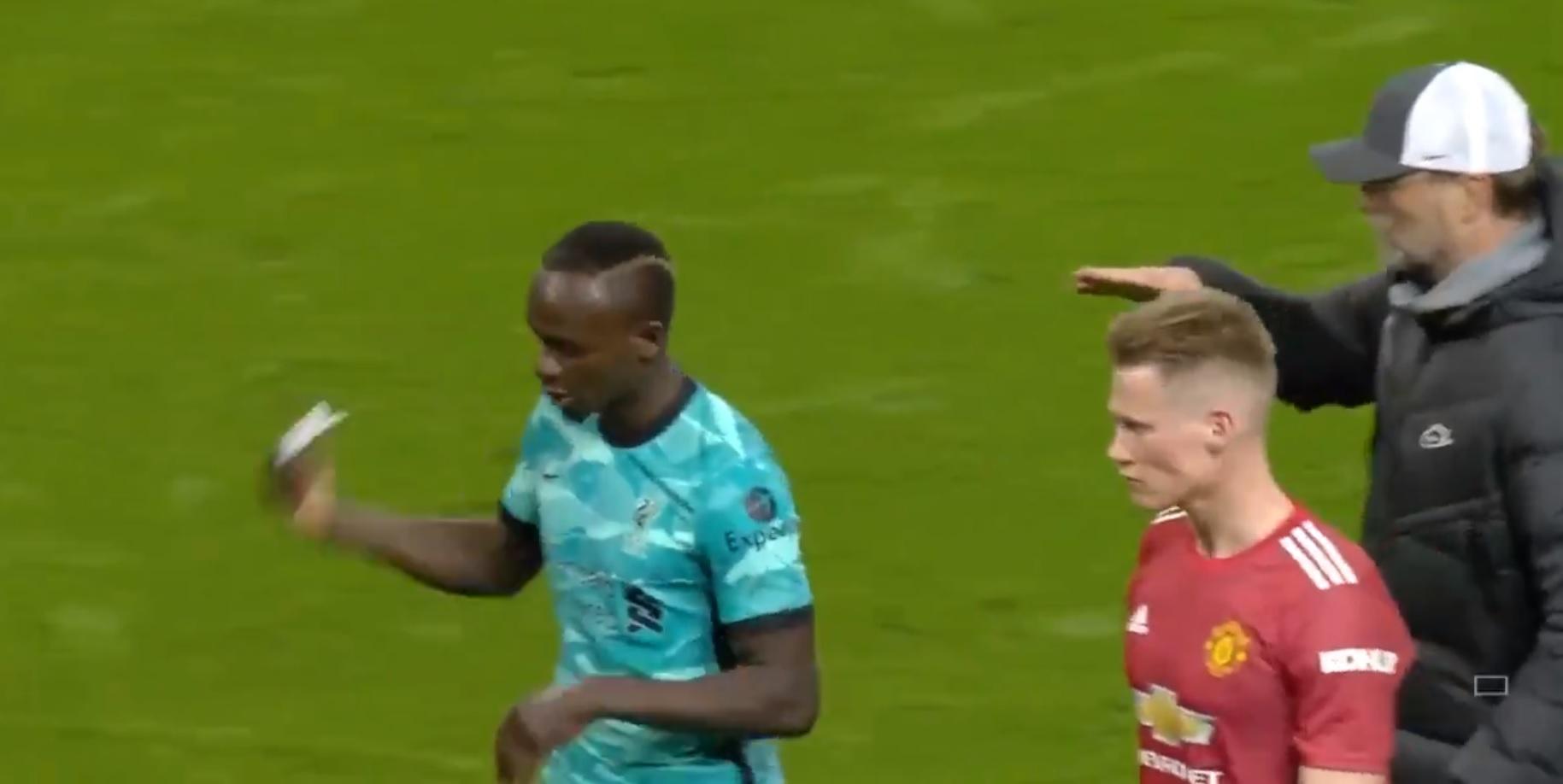 Sadio Mane showed 'lack of respect' after United victory, says Michael Owen