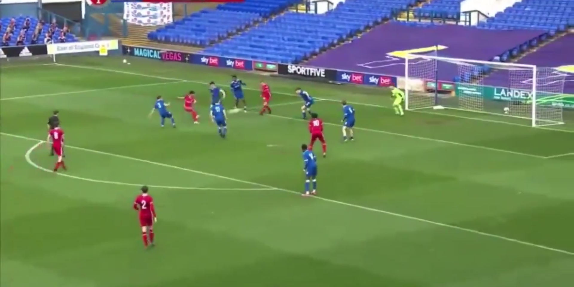 (Video) Liverpool starlet shows off dancing feet in build-up to brilliant goal