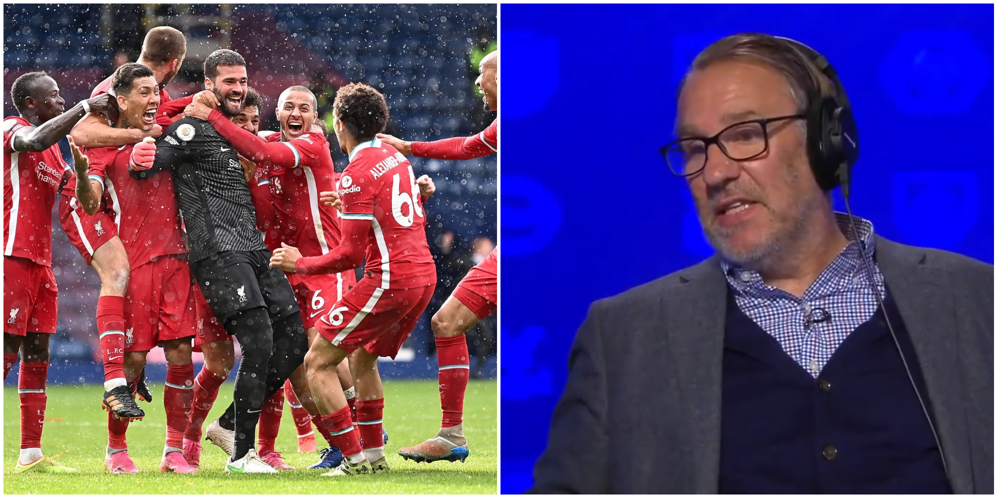 'They shouldn't even be in the race' – Paul Merson makes laughable top four Liverpool claim