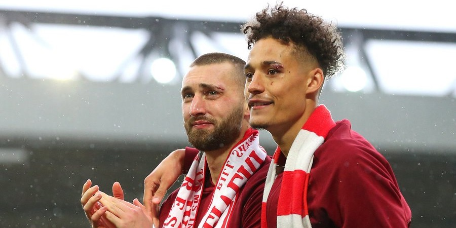 Liverpool stalwart lauds young defenders after impressive season: 'Absolute beasts'