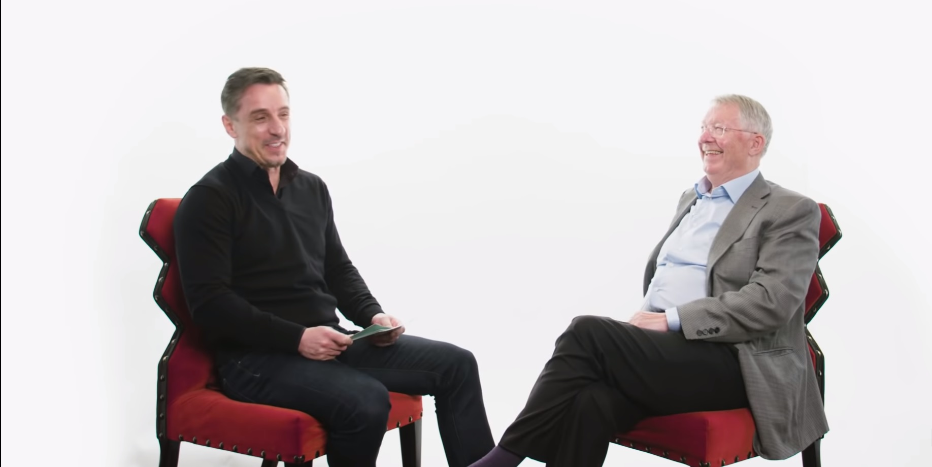 (Video) Gary Neville recalls hilarious reason why Alex Ferguson once left him out of United side at Anfield