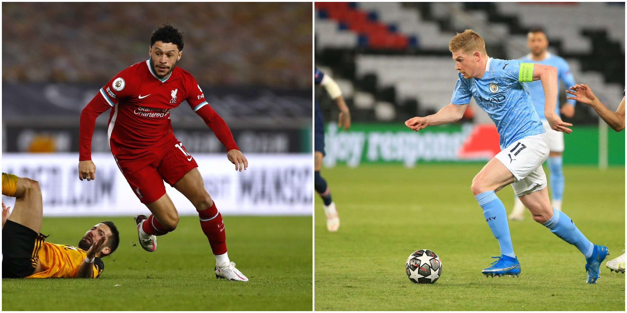 Liverpool midfielder names world-class Manchester City star he looks up to: 'He's got great numbers'