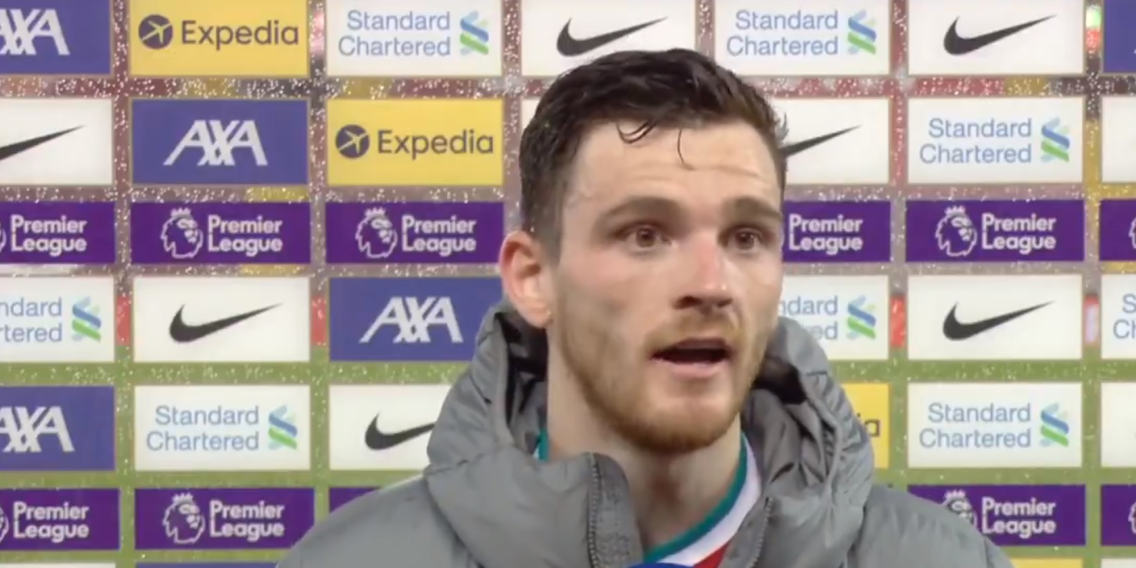 (Video) Andy Robertson weighs in on Liverpool's chances of making top four