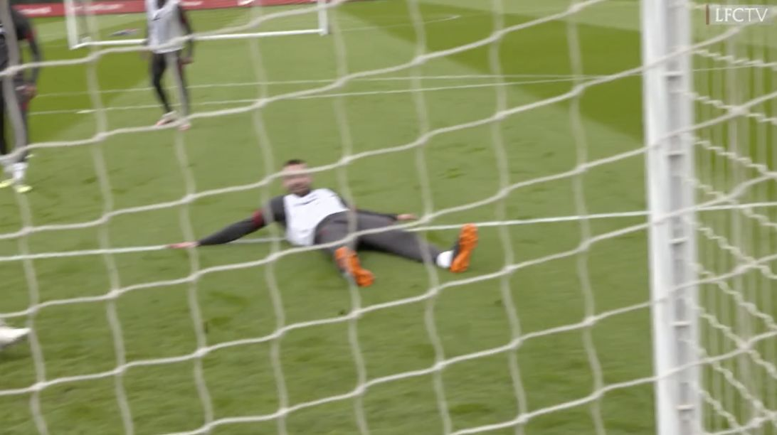 (Video) 'Nat, you can finish!' All laughs as Phillips bags goals in Kirkby training drill