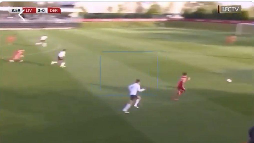 (Video) Kaide Gordon scores pure beauty for U18s as January signing mimics Sadio Mane's famous Arsenal effort
