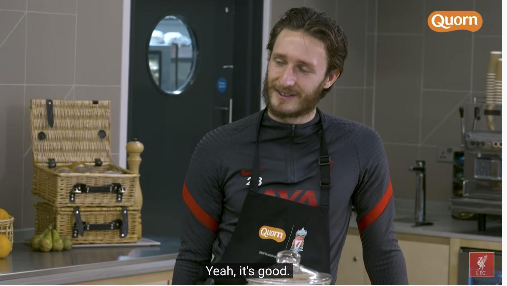 (Video) Ben Davies stars in Liverpool's promo Quorn advert