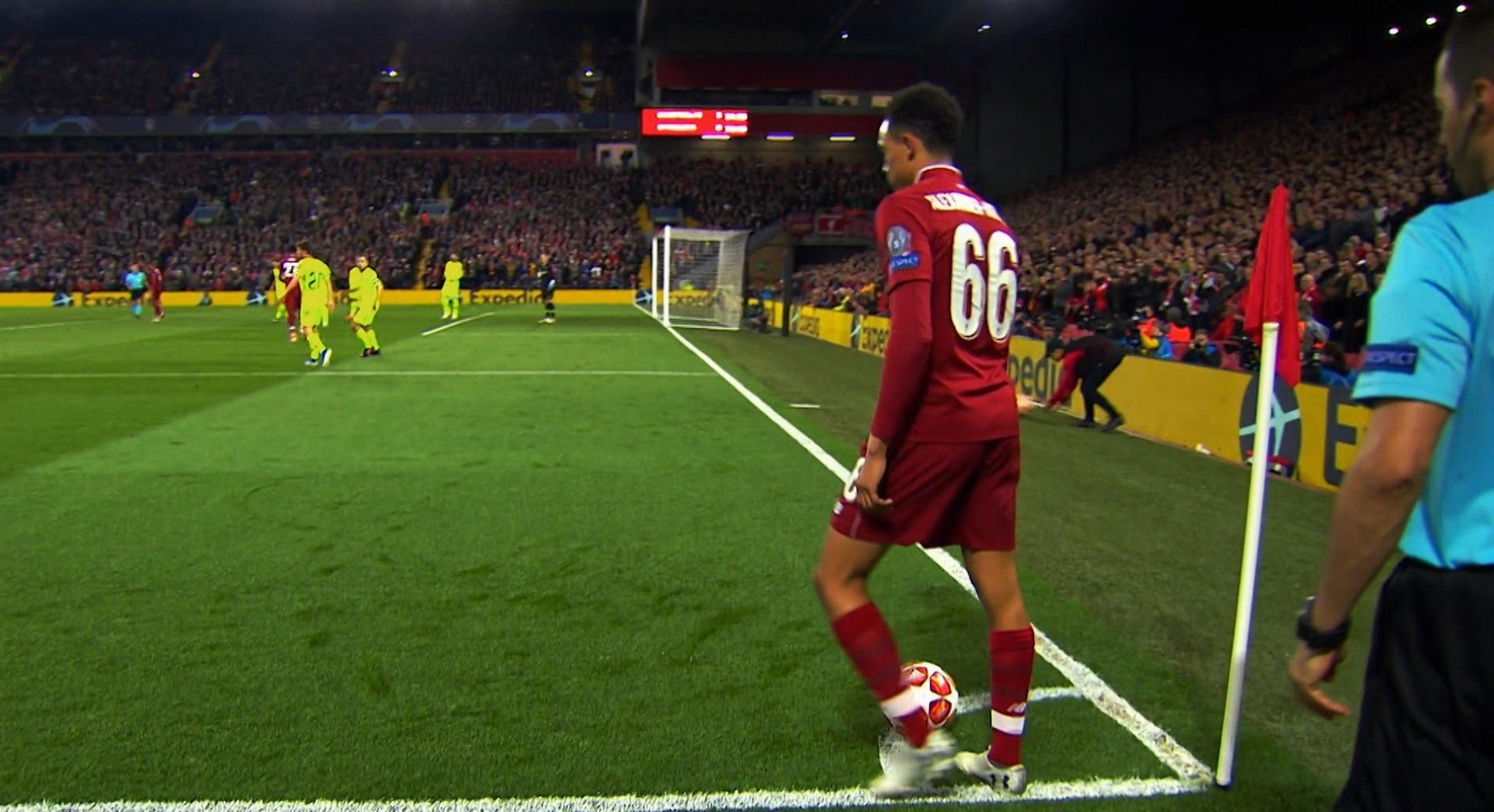 Trent reveals surprising fact about his famous UCL corner v Barcelona