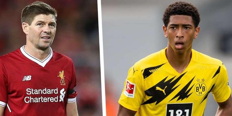 Borussia Dortmund star Jude Bellingham loves brilliant Steven Gerrard comp