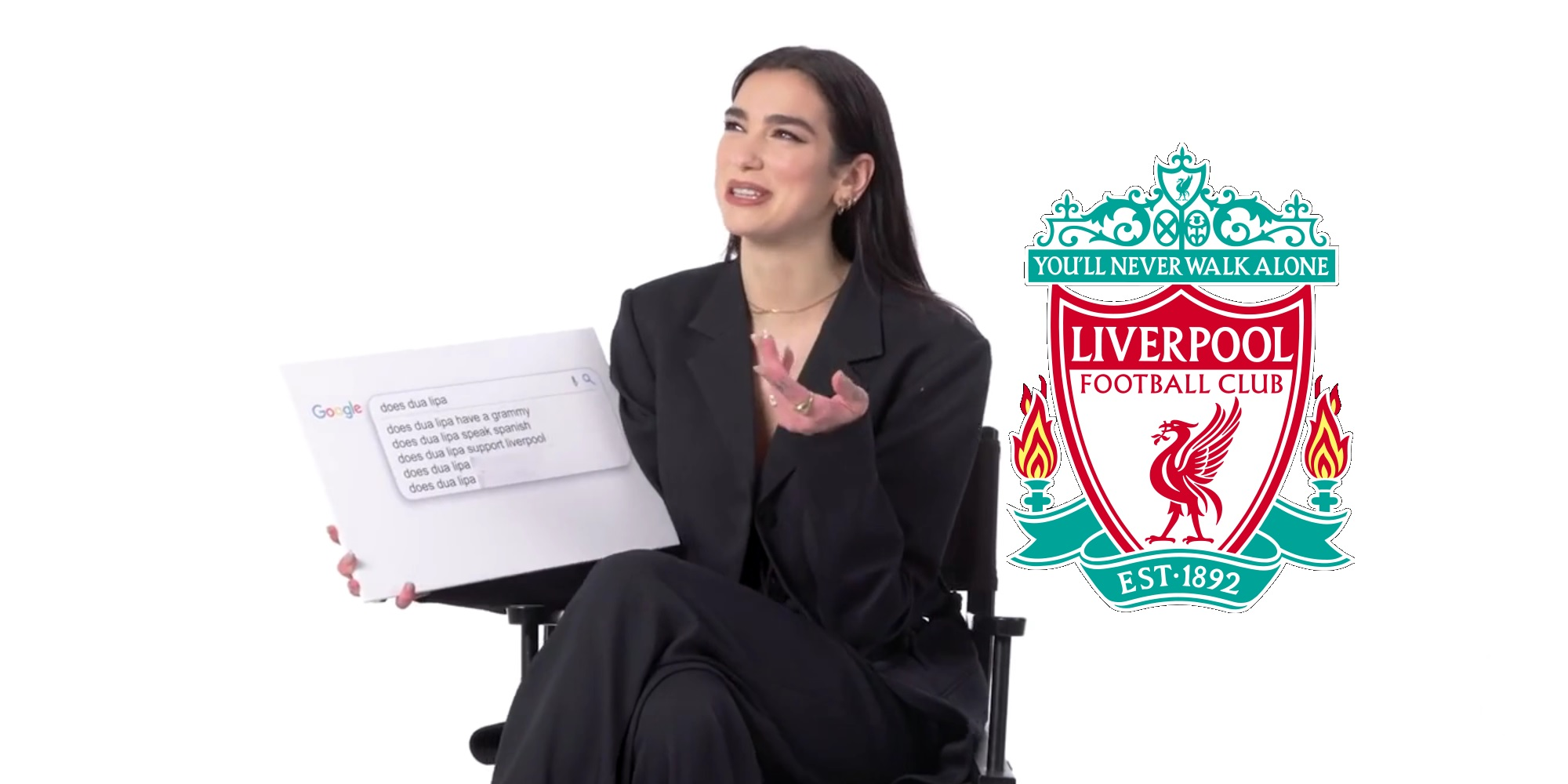 """(Video) Popstar Dua Lipa confirms Liverpool has a """"special place in my heart"""""""