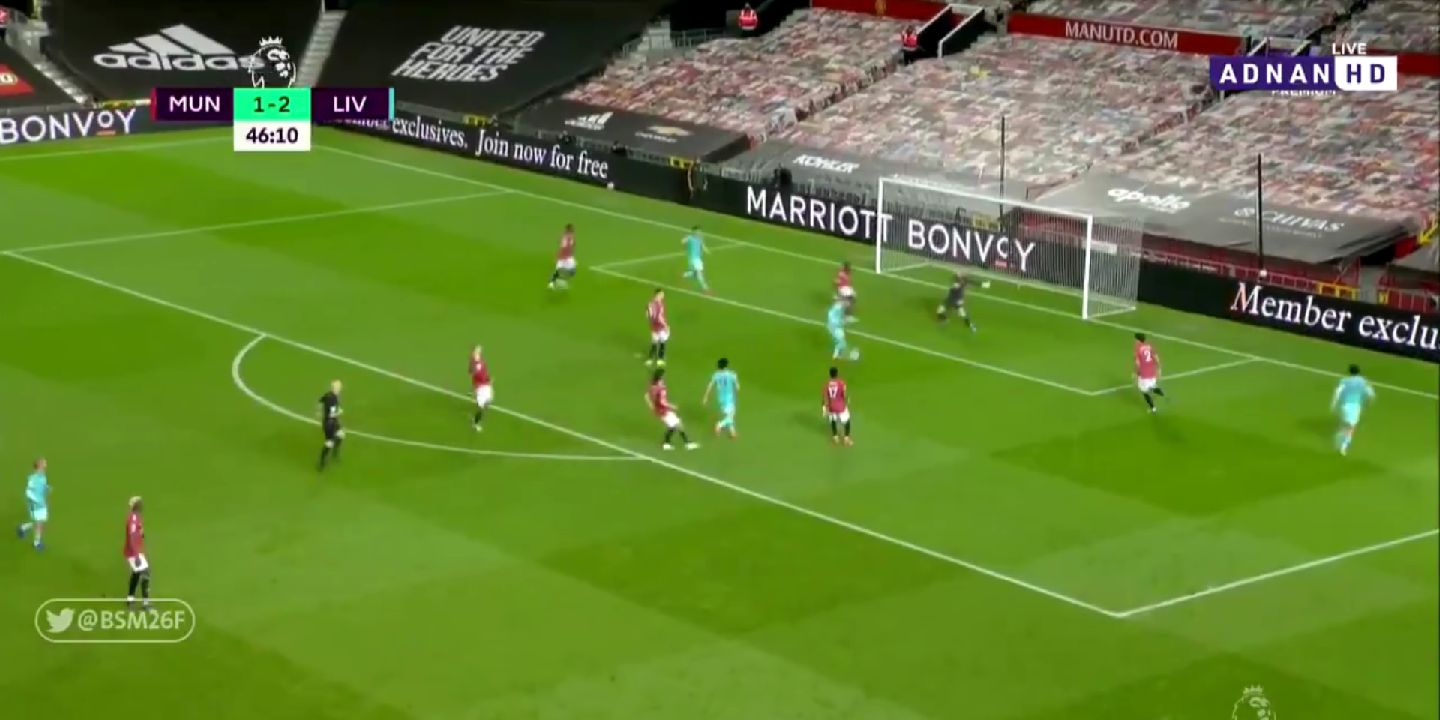 (Video) Bobby Firmino hits a brace v. Man United; makes it three for Liverpool