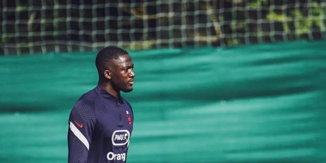 (Photo) Ibrahima Konate trains with France U21 after signing off on Liverpool deal