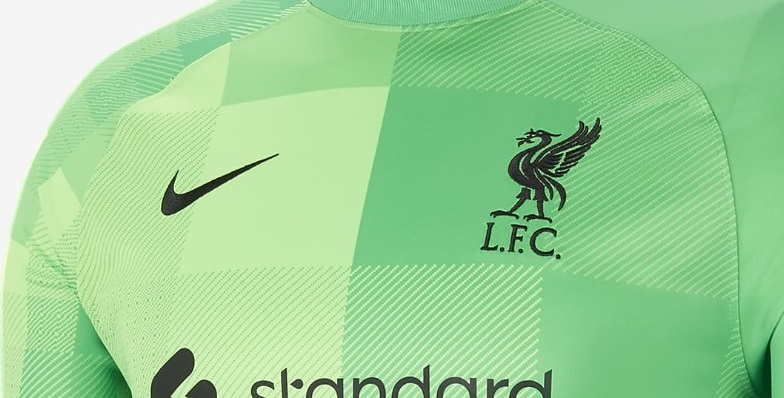 (Photo) Liverpool drop bright green kit for 21/22 alongside official release