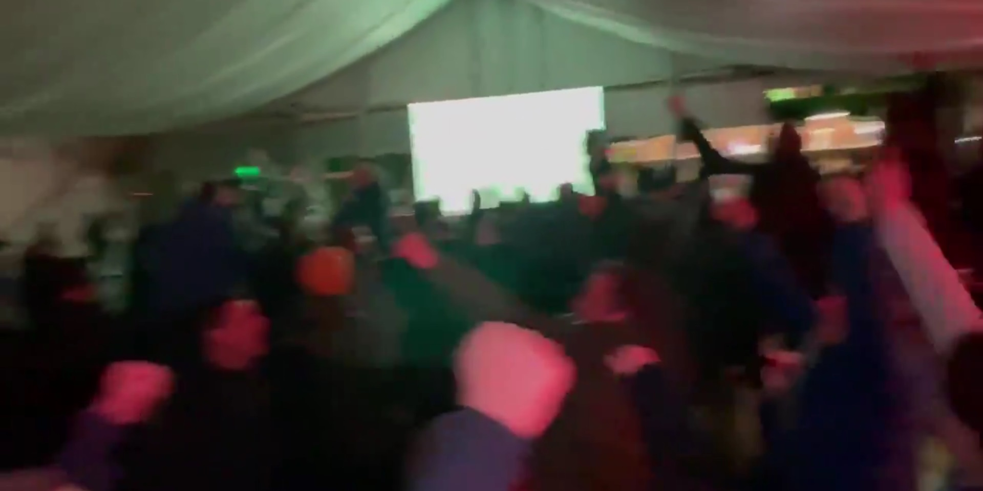 (Video) Liverpool fans explode in celebration as Reds beat Man United at Old Trafford