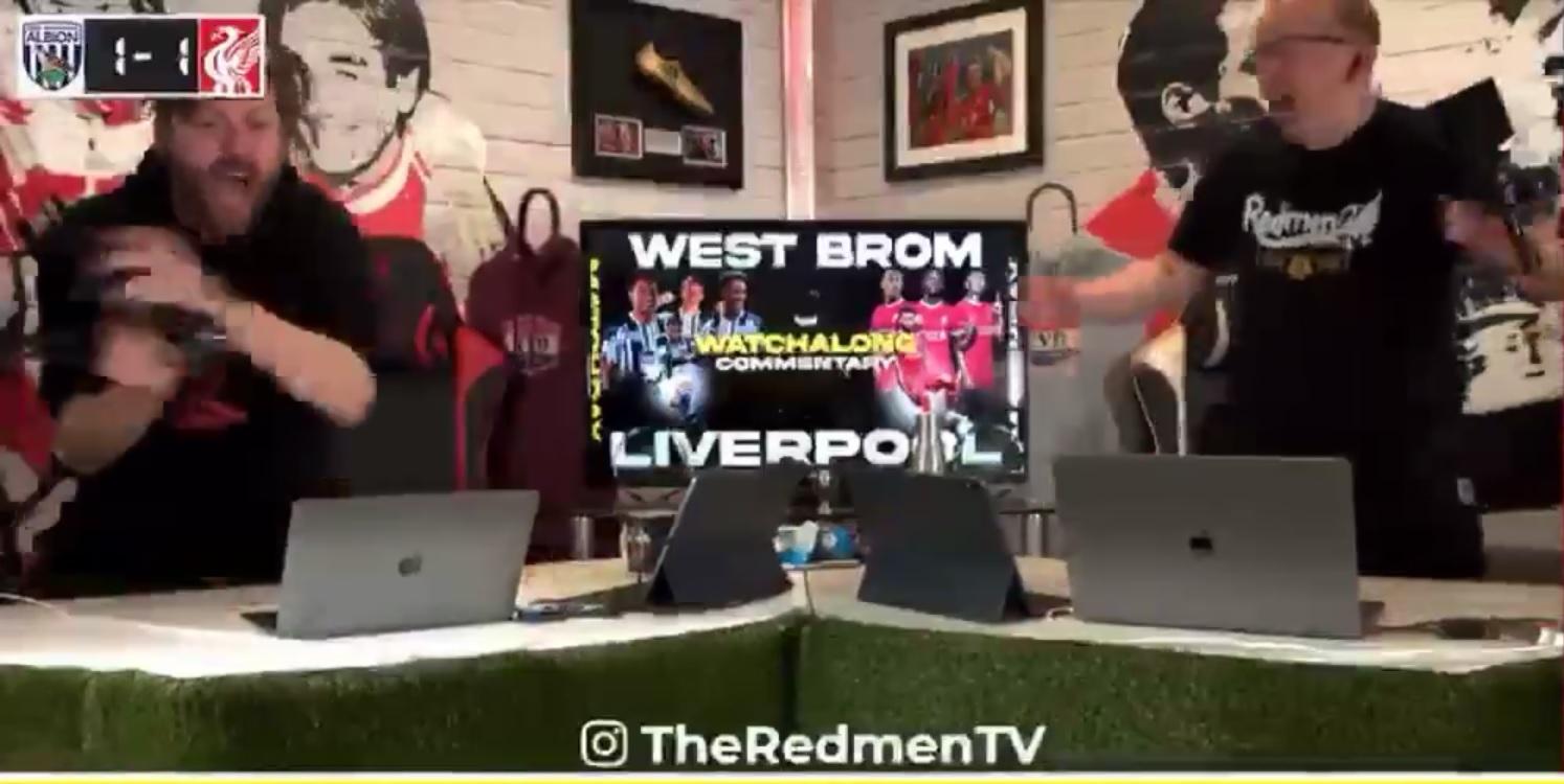 "(Video) The Redmen TV go crazy for Alisson's wondergoal: ""Alisson Becker, Alisson Becker, Alisson Becker!"""