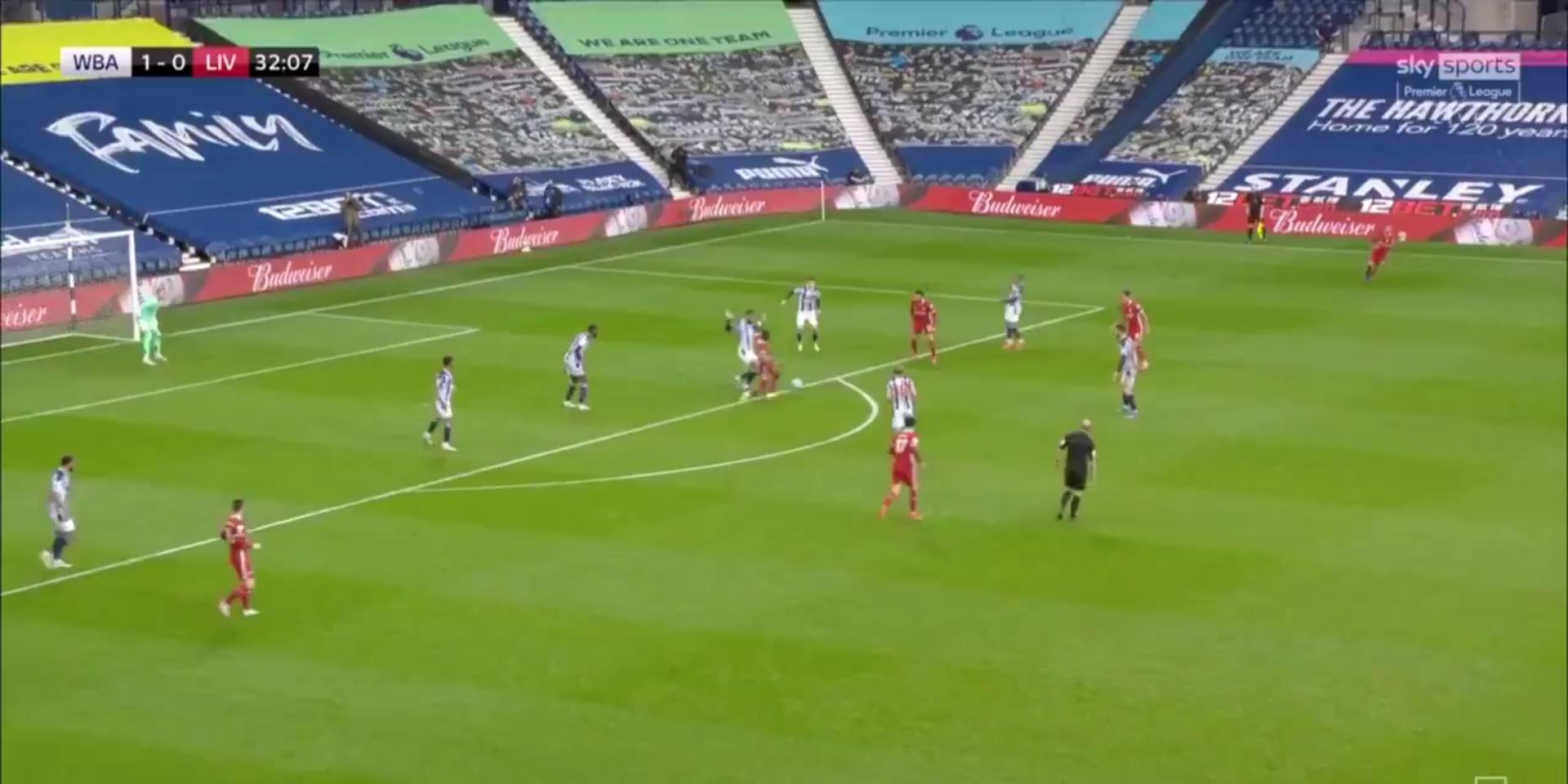 (Video) Salah bags wondergoal from absolutely nothing as Mane registers assist