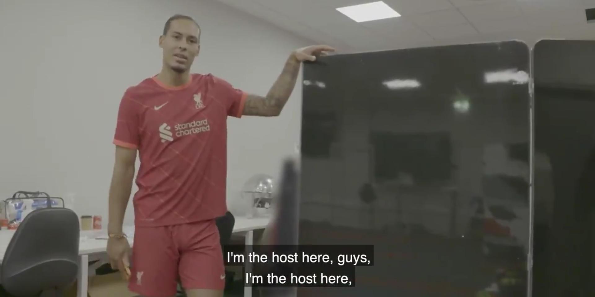(Video) Brilliant behind the scenes footage of Virgil van Dijk as Liverpool launch new kit
