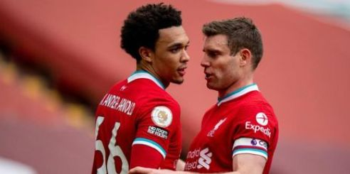 (Photo) James Milner tags Trent Alexander-Arnold in lovely Instagram story after England injury