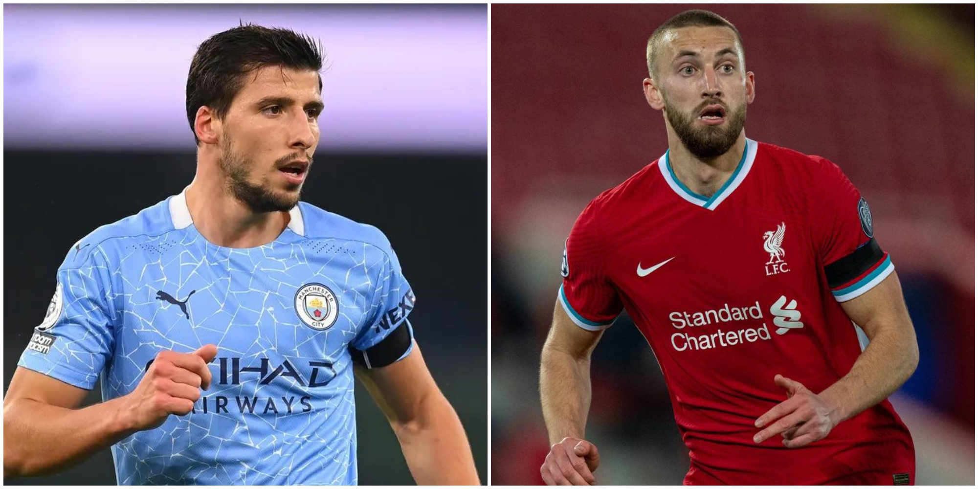 Ruben Dias' stats compared with Nathaniel Phillips' make for hilarious reading