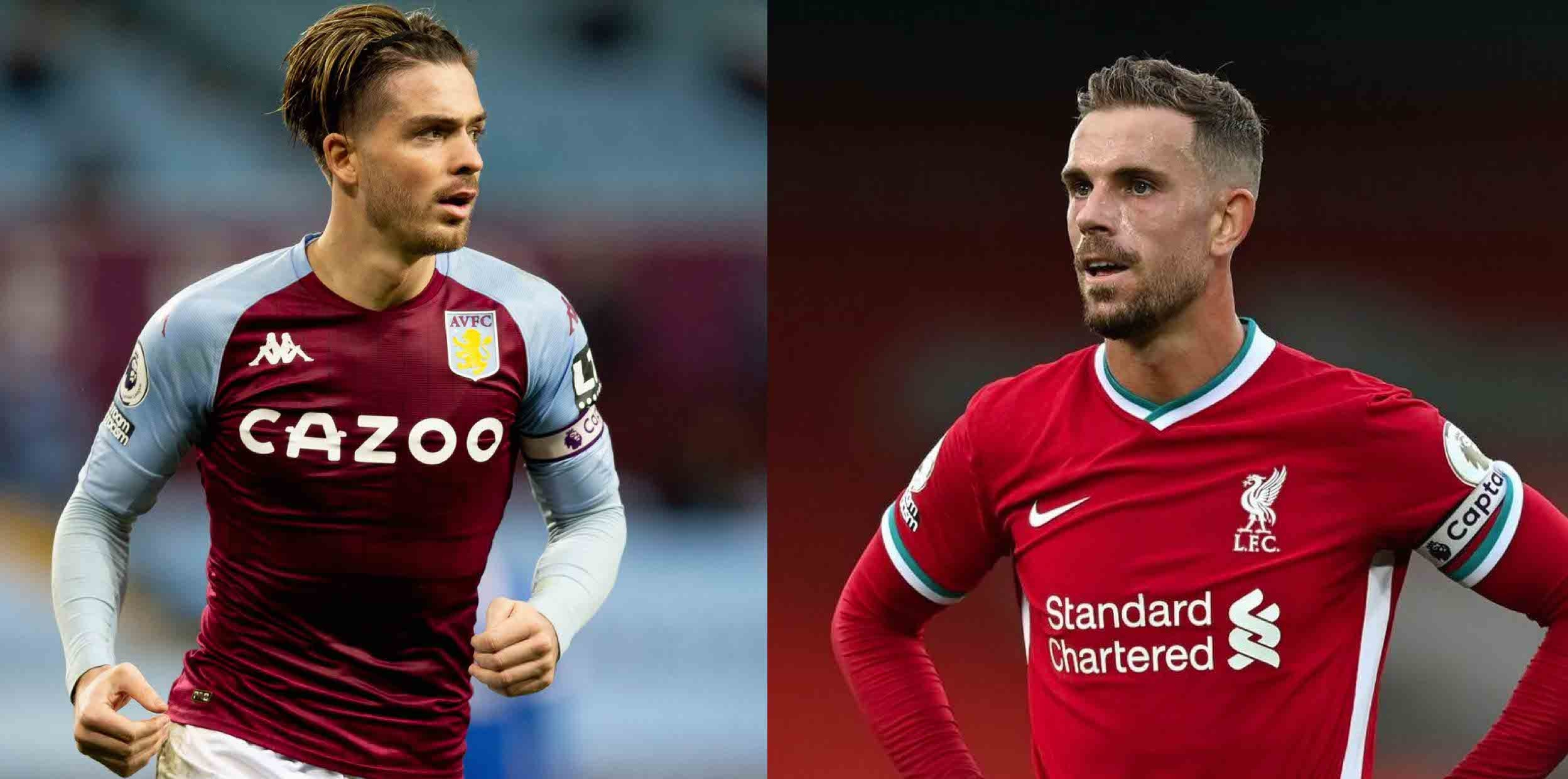 Grealish waxes lyrical about Henderson & how the LFC star helped him 'grow up'