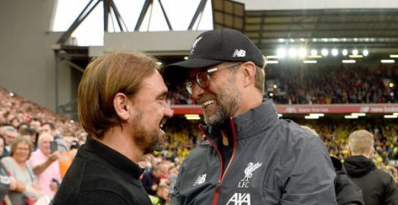 Liverpool's Premier League Fixtures 2021/22 announced: Reds face Norwich and Farke at Carrow Road