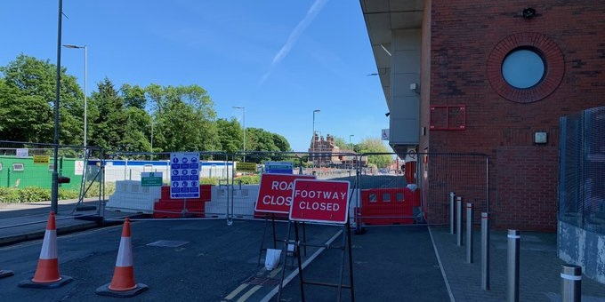 (Photos) Work begins on exciting development as Anfield Road closes