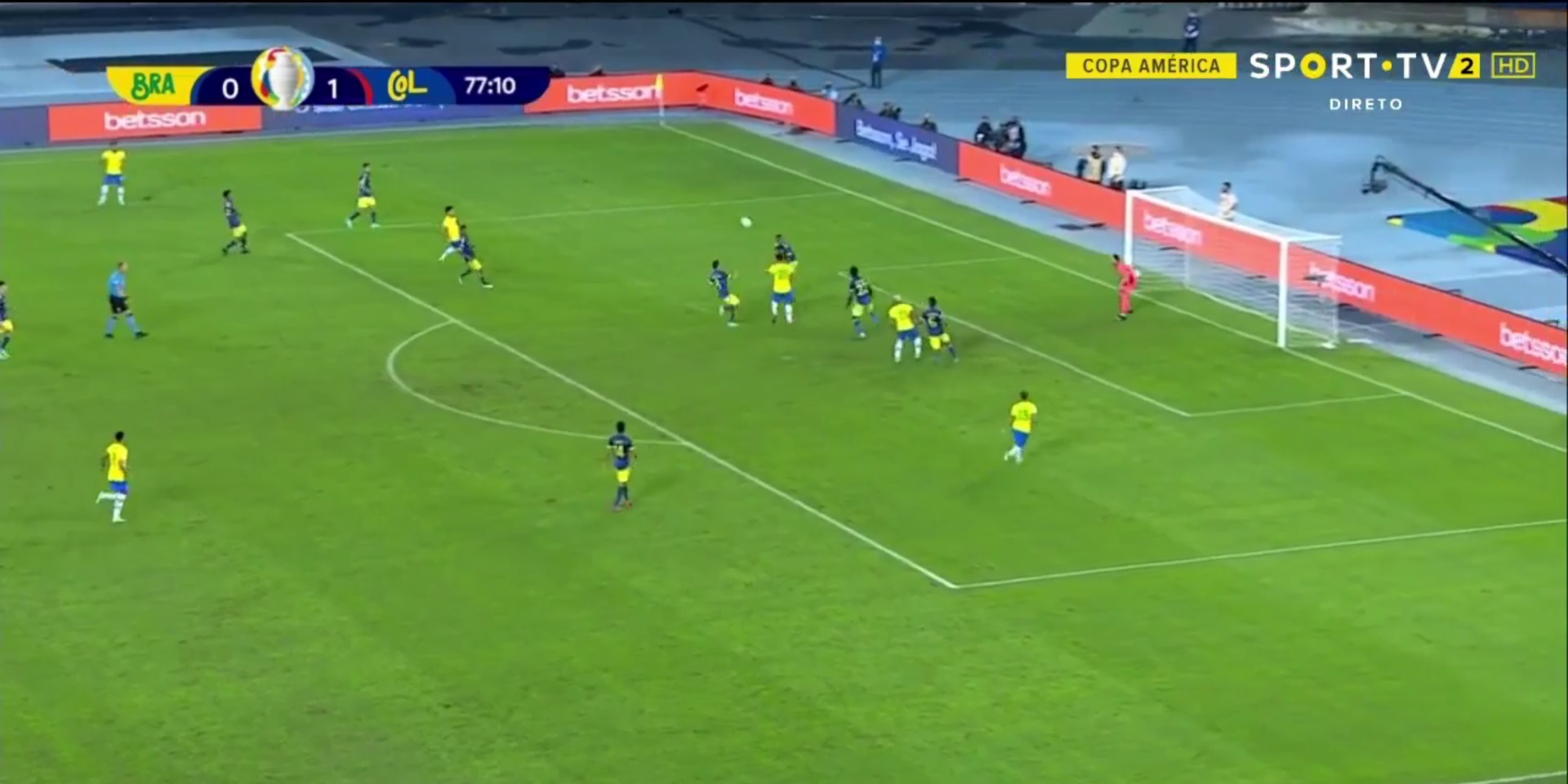 (Video) Bobby Firmino bags crucial goal for Brazil in Copa America clash