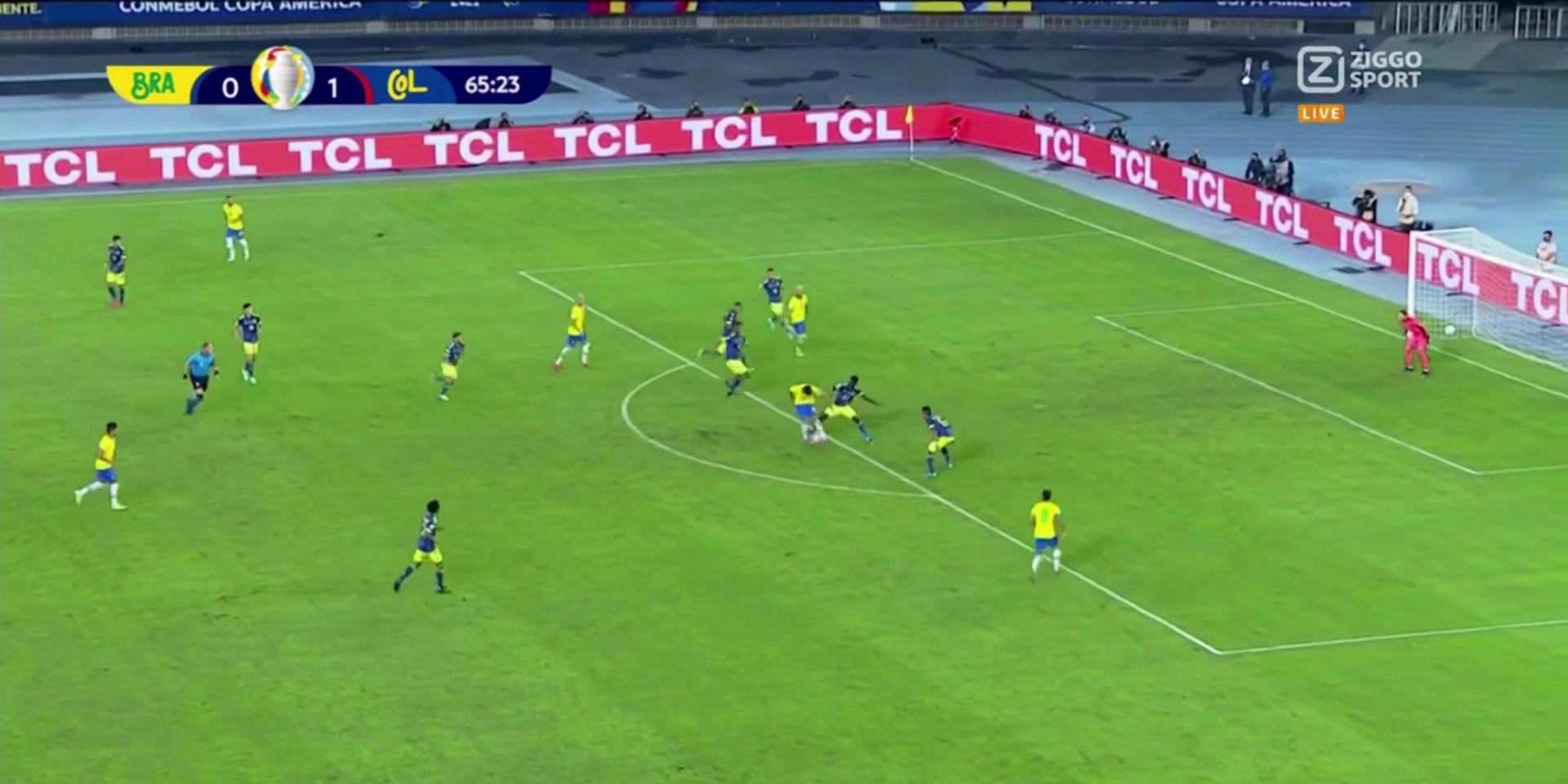 (Video) Firmino sets up Neymar for Brazil goal with glorious pass in Copa America – but PSG star smashes post