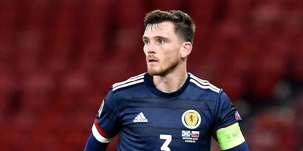 Andy Robertson issues message to Christian Eriksen and family