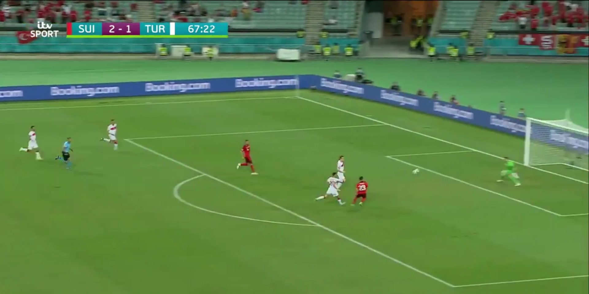 (Video) Xherdan Shaqiri breaks Switzerland record by completing brilliant brace in Euro 2020