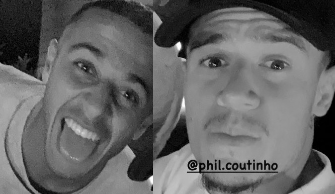 (Image) Liverpool star Thiago hits social media with message for Coutinho