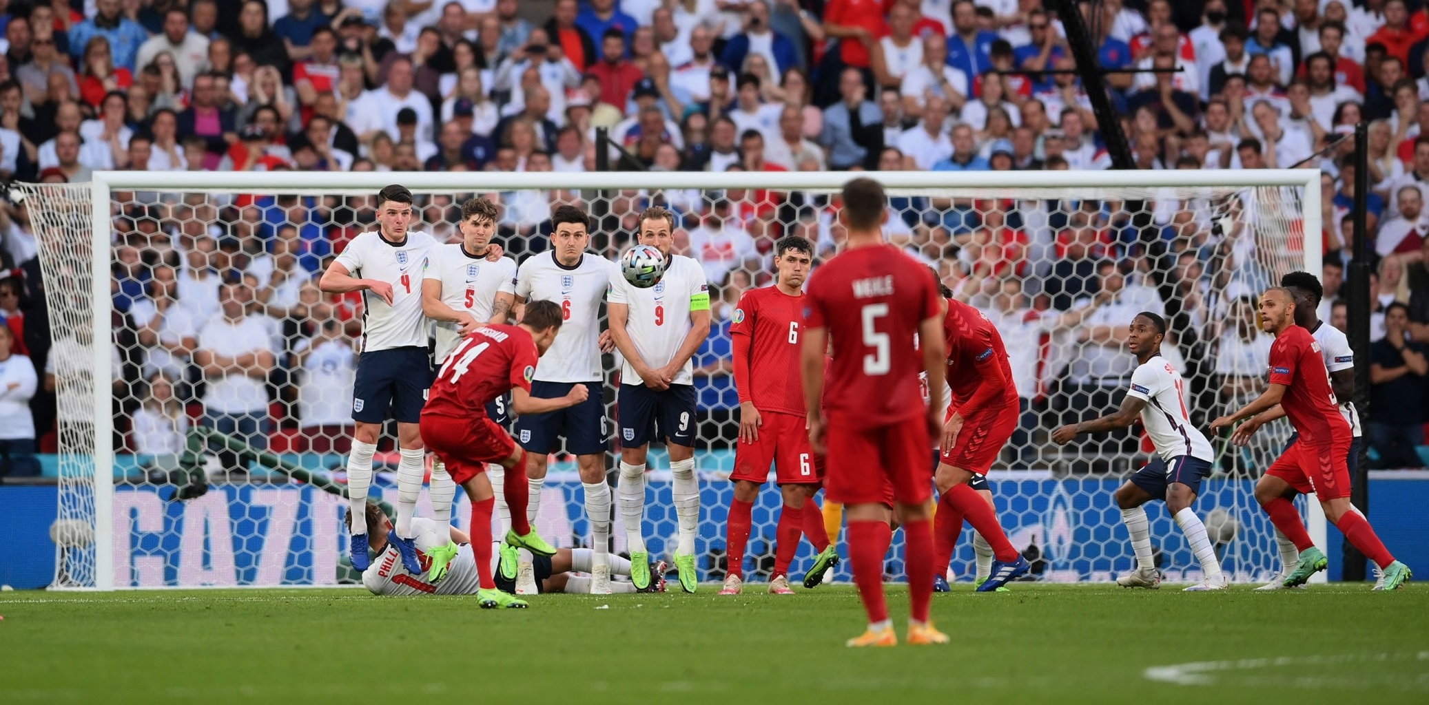 Liverpool and Everton set to battle out for Euros star who scored the only direct free-kick of the tournament – report