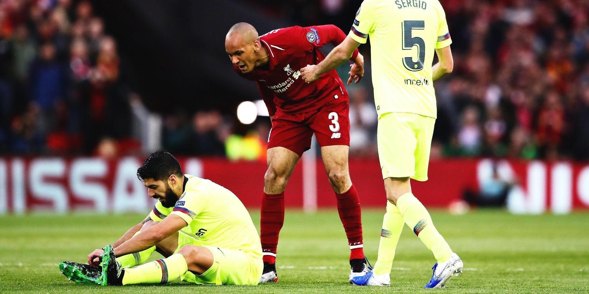 Fabinho references 2018/19 Champions League moment that once infuriated him during Instagram Q&A – 'Just ball ref'