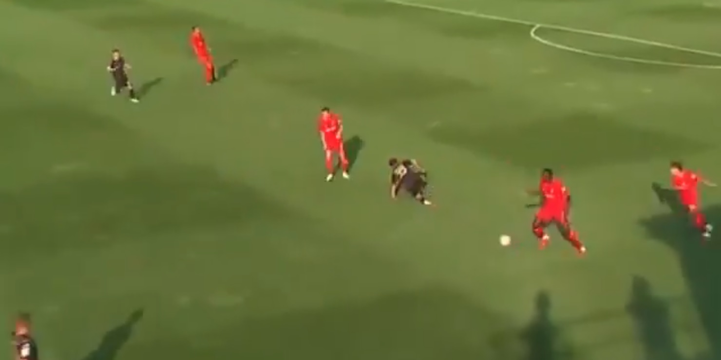 (Video) Konate wins back possession with impressive recovery pace v Mainz