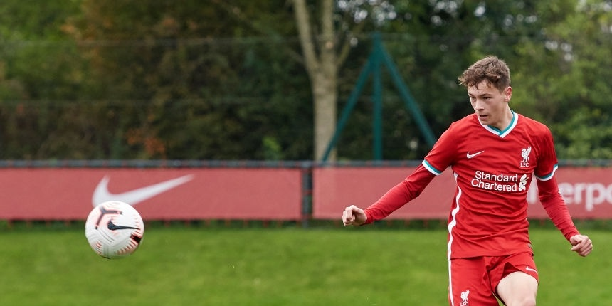 Young defender signs pro contract with Liverpool