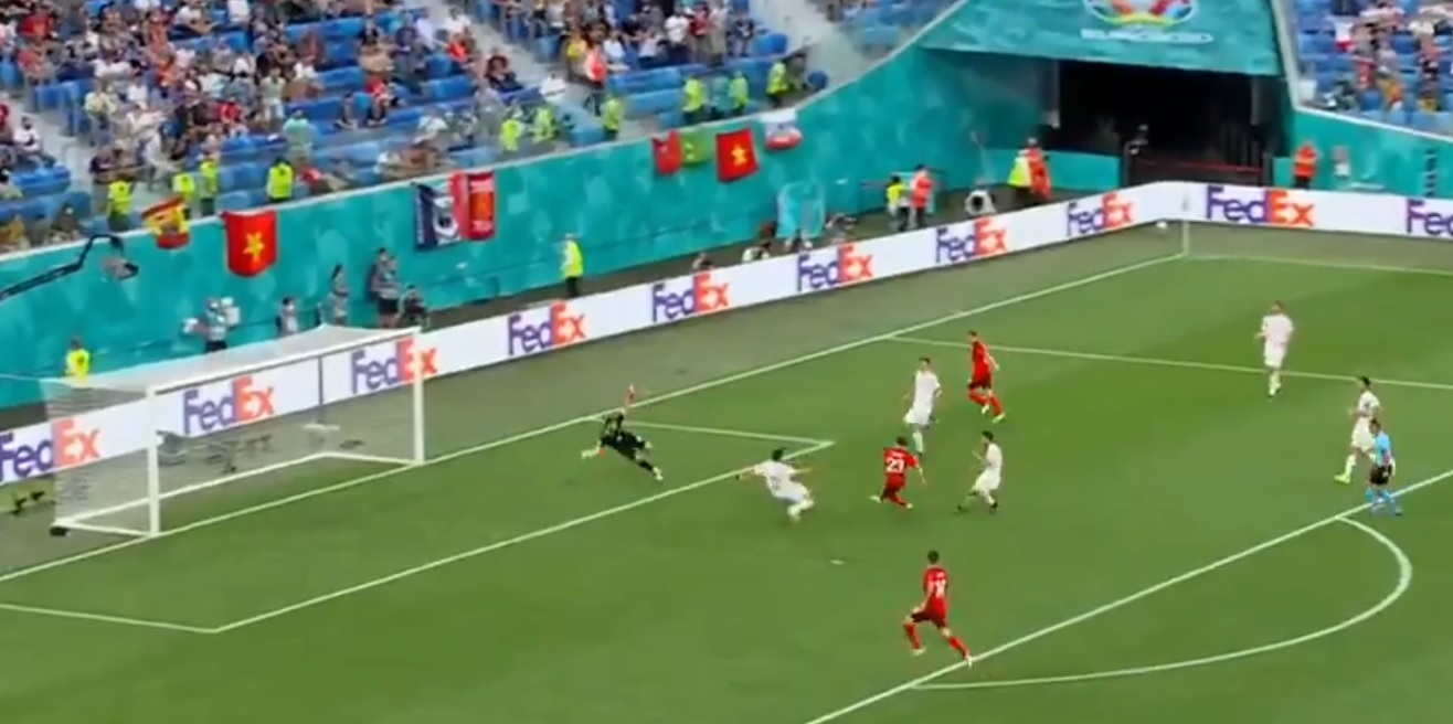 (Video) Shaqiri nets Euros equaliser for Switzerland following calamitous error from Man City defender