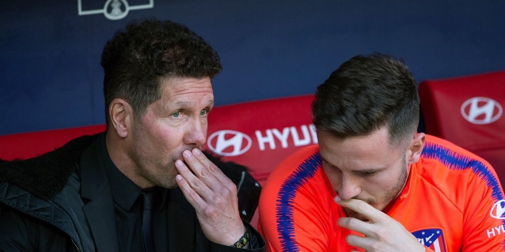 Simeone admits Liverpool-linked Saul had doubts over his role at Atletico Madrid