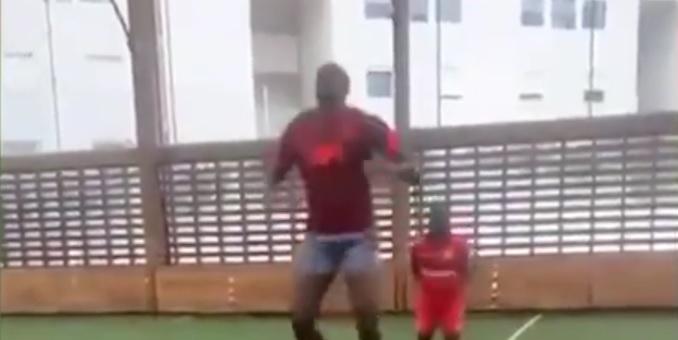 (Video) Ibrahima Konate trains in full Liverpool kit ahead of pre-season
