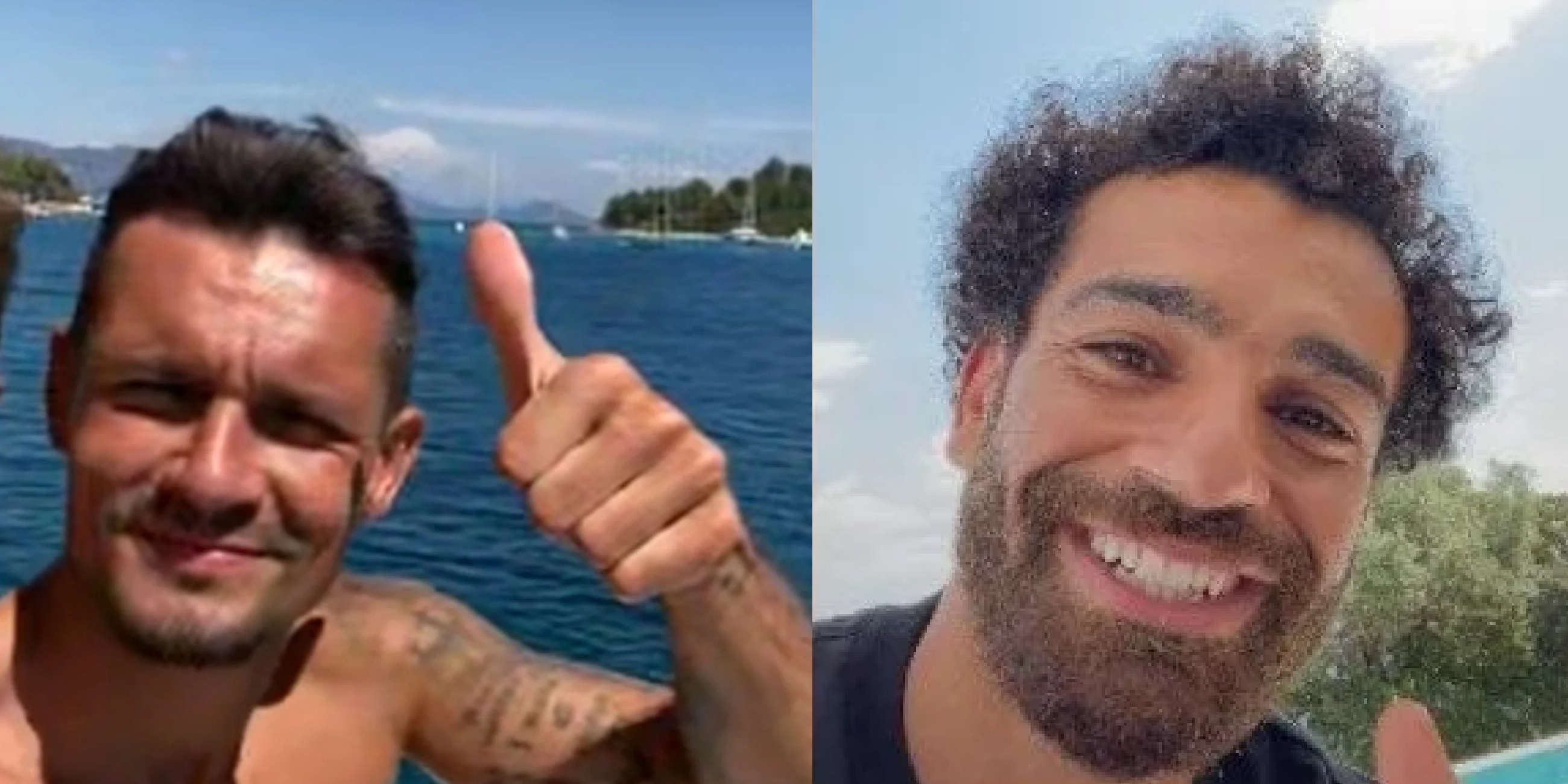 (Photo) Mo Salah's bromance with Zenit star still very much alive in wholesome social media post