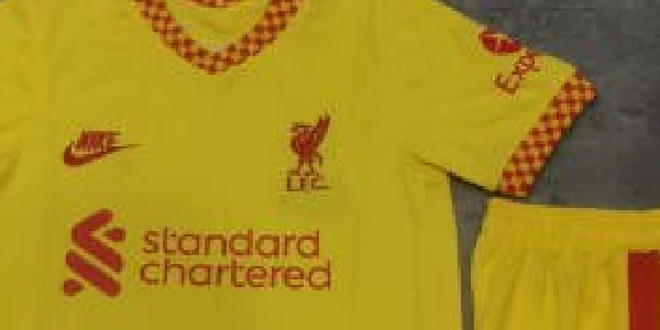 (Photo) New leaked snap of Liverpool's bold 2021/22 third kit, with shorts – it'll split fans