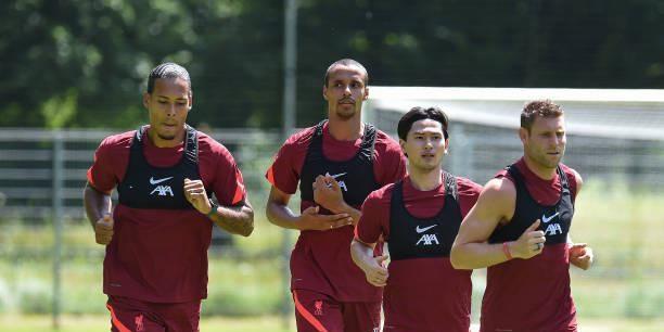 (Photos) LFC stars – including Matip, van Dijk & Minamino – undertake first pre-season training session
